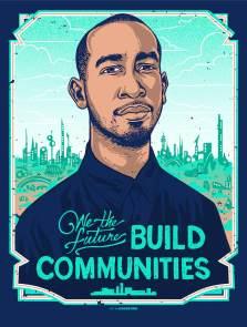 Activist Ismael Nazario, We The Future. Poster Credit Munk One