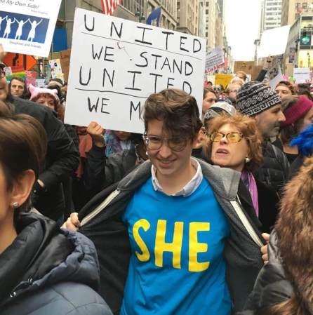 Activist Lindsay Amer, We The Future. Public speaking