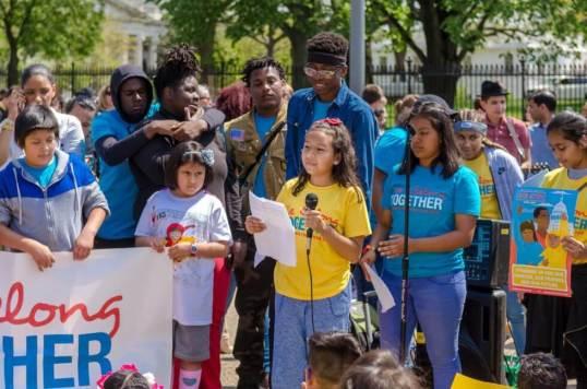 Activist Leah, We The Future. Public Speaking