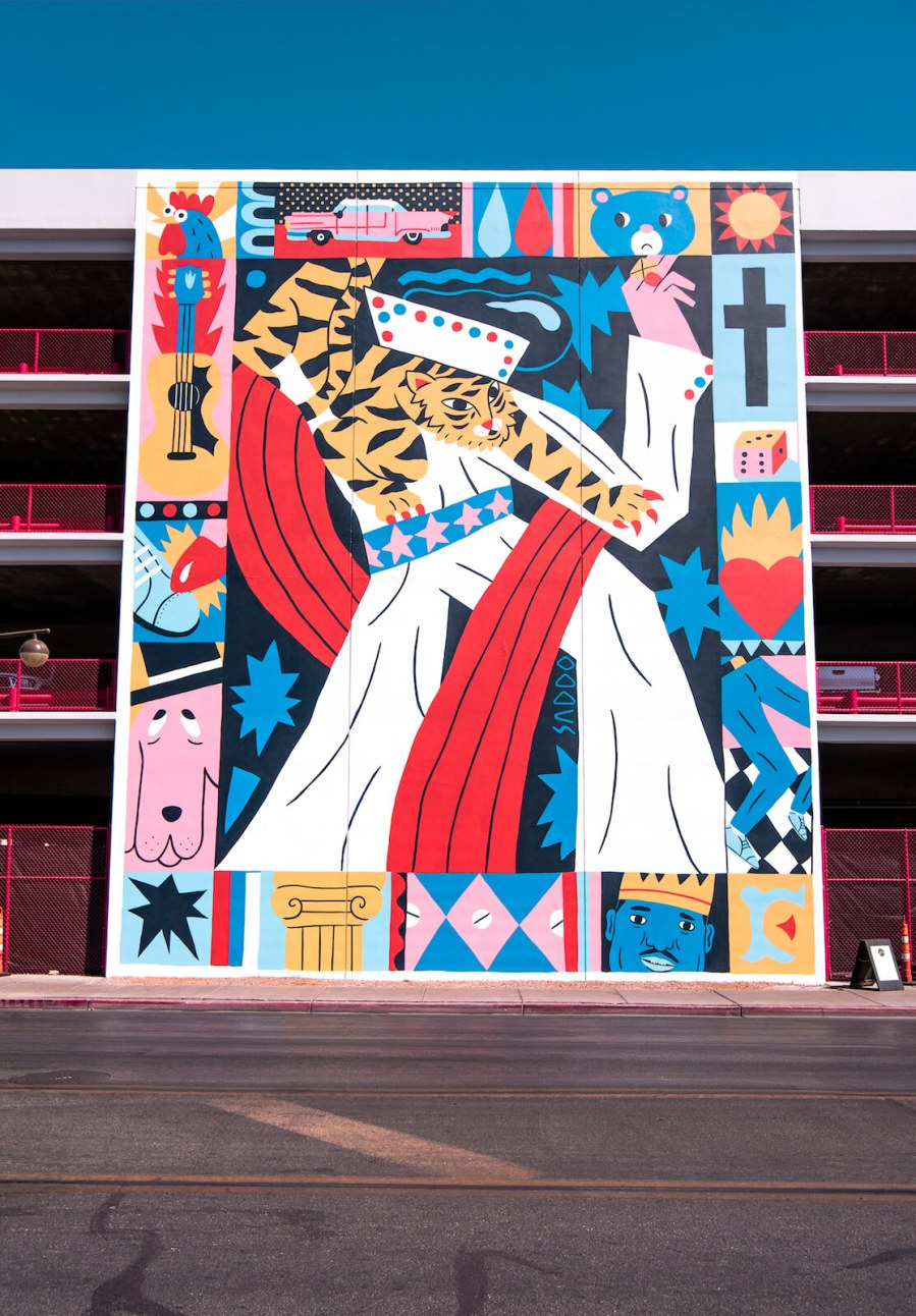 Saddo, Life is Beautiful 2018. Downtown Las Vegas. Photo Credit Justkids