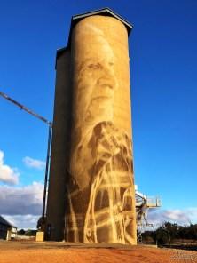 Rone, The (Wimmera-Mallee) Silo Art Trail -Lascelles. Photo Credit Annette Green