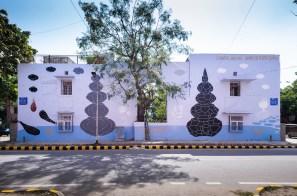 Andreco, Lodhi Art Festival, Delhi 2019. Photo credit Federico Angeloni