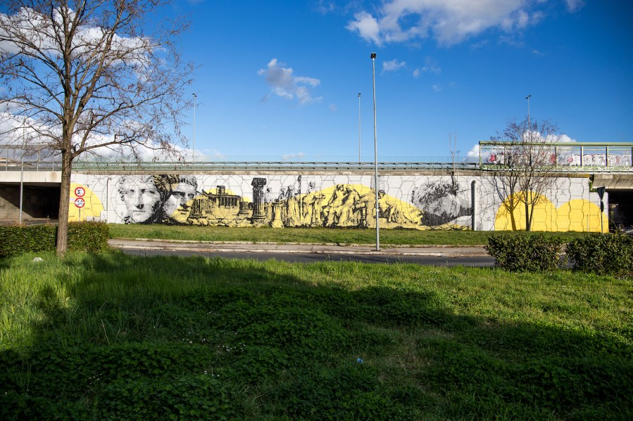 GRAArt-street-art-mural-Grande-Raccordo-Anulare-ROME-Chekos-pc-Valentino-Bonacquisti