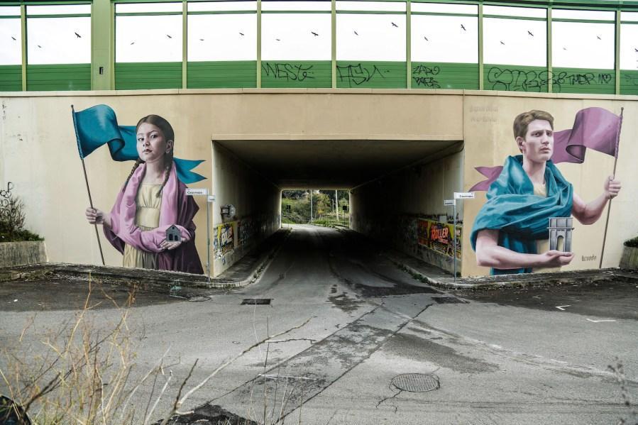 GRAArt-street-art-mural-Grande-Raccordo-Anulare-ROME-Colectivo-Licuado-pc-Eleonora-Grieco