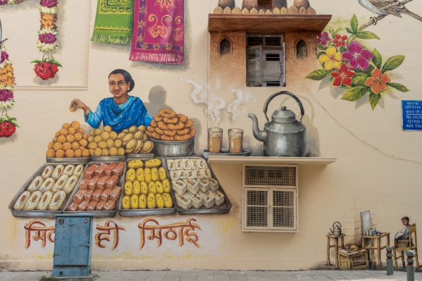 Yip Yew Chong, Lodhi Art Festival, Delhi 2019. Photo credit Pranav Gohil