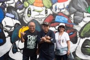 Woes, POW! WOW! Hawaii 2019. Photo Credit Ianny catches walls