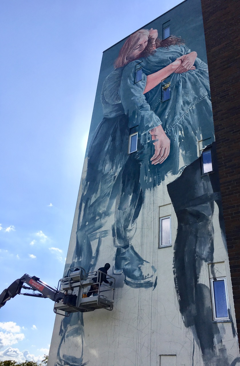 """Fintan Magee,""""Out in the Open"""", Aalborg 2019. Photo Credit Kirk gallery"""