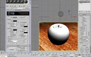 Materiale mela verde con vray e 3d studio max 02