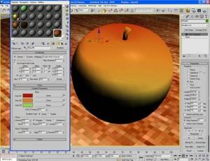 Materiale mela verde con vray e 3d studio max 15