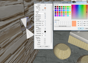 Making of  sketchup   stone house 20