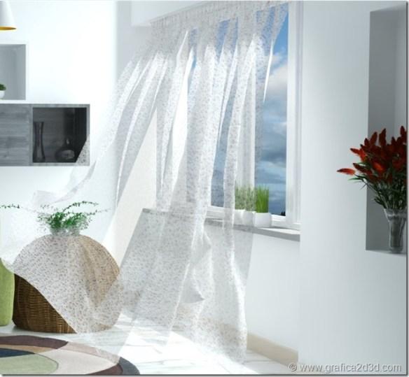 Curtain material vray sketchup