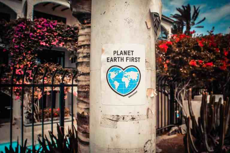 Planet earth first