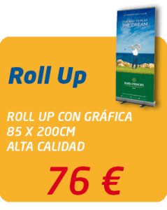 Graficas Mundo - Oferta Roll Up 76 €