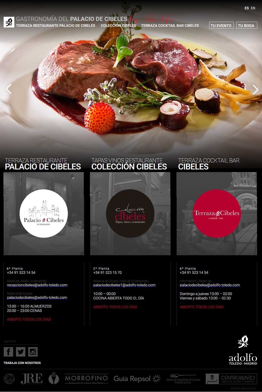 Ideas diseo pginas web restaurantes  graficmedia
