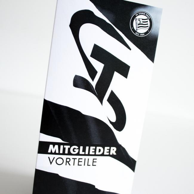 Folder SK Sturm Graz – grafik.design Steinberger in Graz