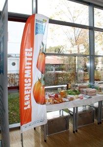 Beachflag Lebensmittelabteilung