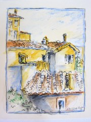 Postkarte Castagneto 2