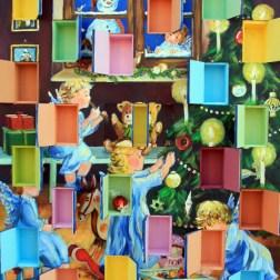 Christa Tauser Holz-Adventskalender