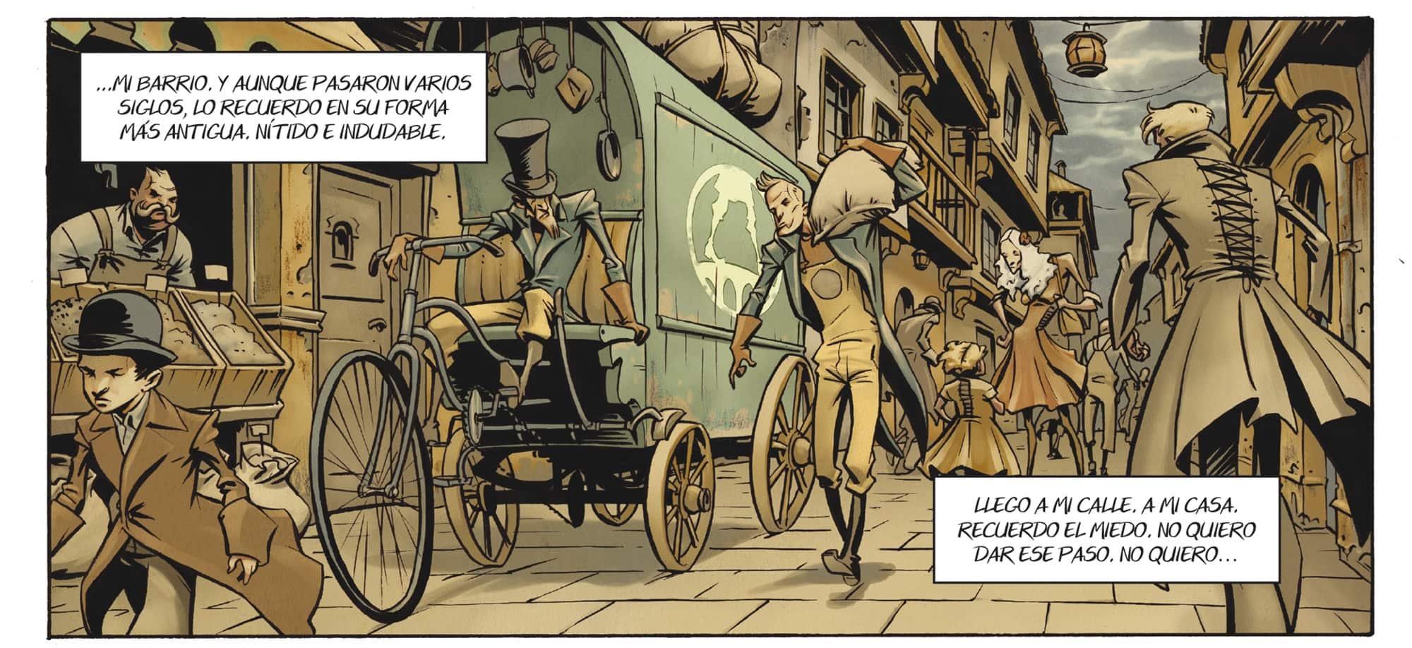 Cieloalto es un cómic con un pequeño toque steampunk