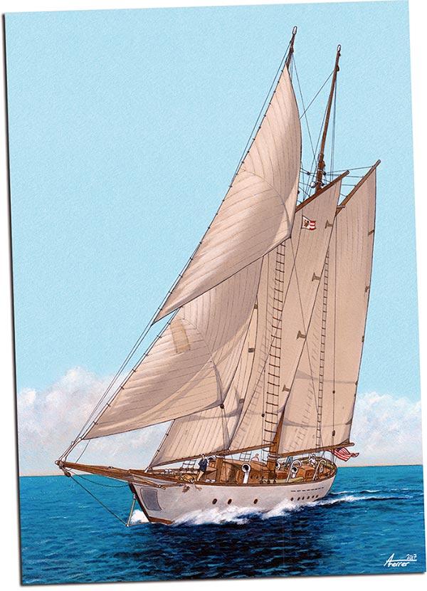 Lámina que se regala en el cómic ARDE CUBA, de Agustín Ferrer Casas