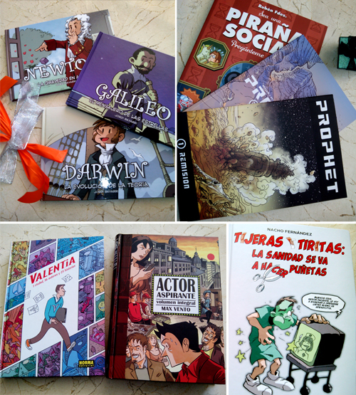 cómics regalo