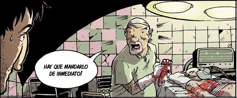 Buckson es una novela grafica que te enseña que realizar operaciones ilegales para la mafia... no es buena idea.