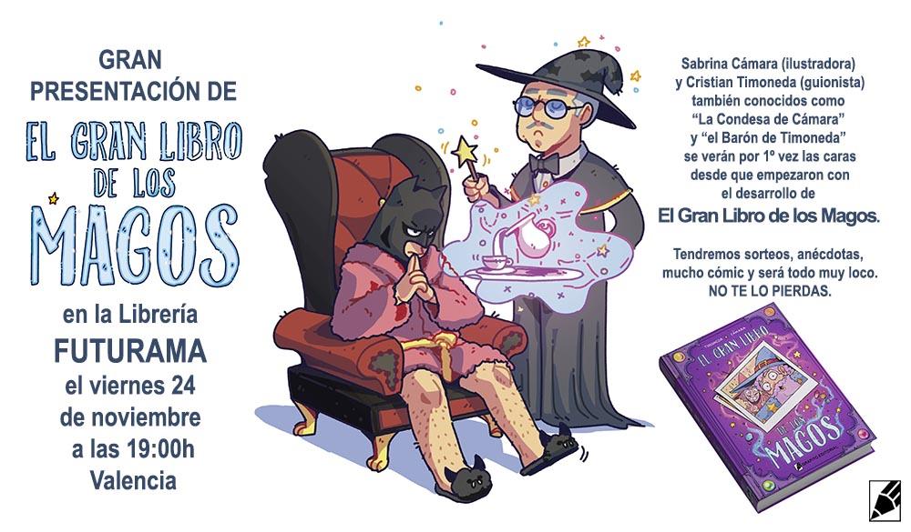 GRAN_LIBRO_MAGOS_FUTURAMA COMICS VALENCIA