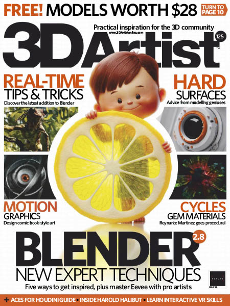 Download] 3D Artist Issue 125 November 2018 Pdf - Grafixfather