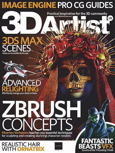 Download] 3D Artist Issue 128 February 2019 Pdf - Grafixfather