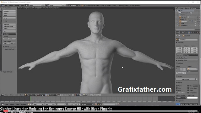 blender character modeling for beginners hd free download