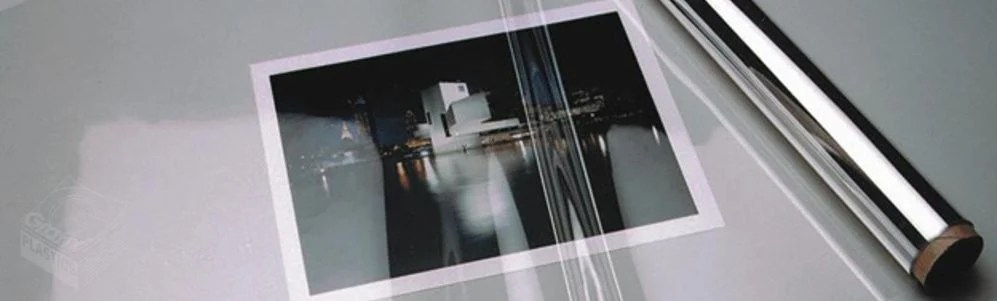 Archival DuraLar Polyester film covering a photograph