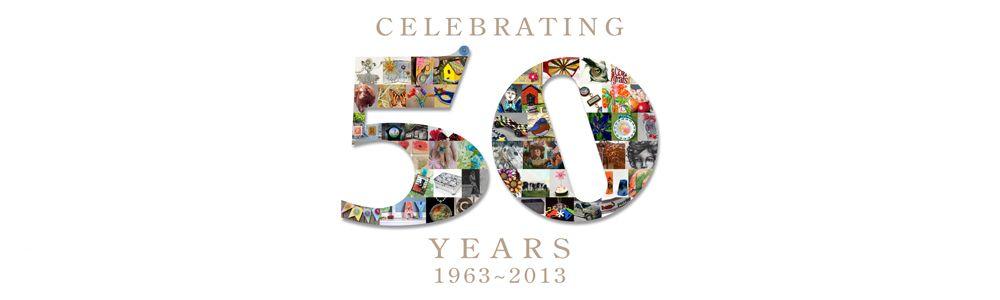 The Grafix Plastics Anniversary Logo
