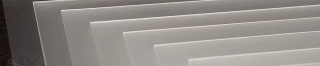 A stack of HDPE Plastic Sheets