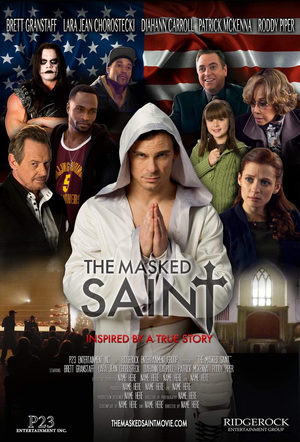 Image result for the Masked Saint movie poster