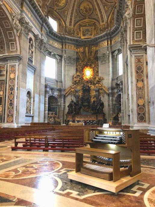 Allen Organ selected by the Sistine Chapel - Grafton Piano