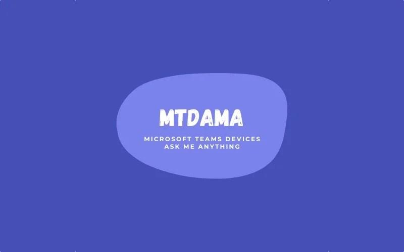 MTDAMA Logo
