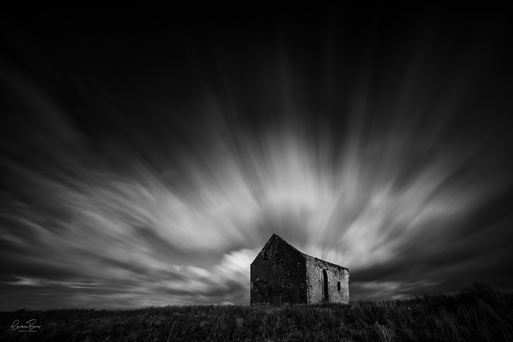 Heaven On Earth Church Print Isle of Skye