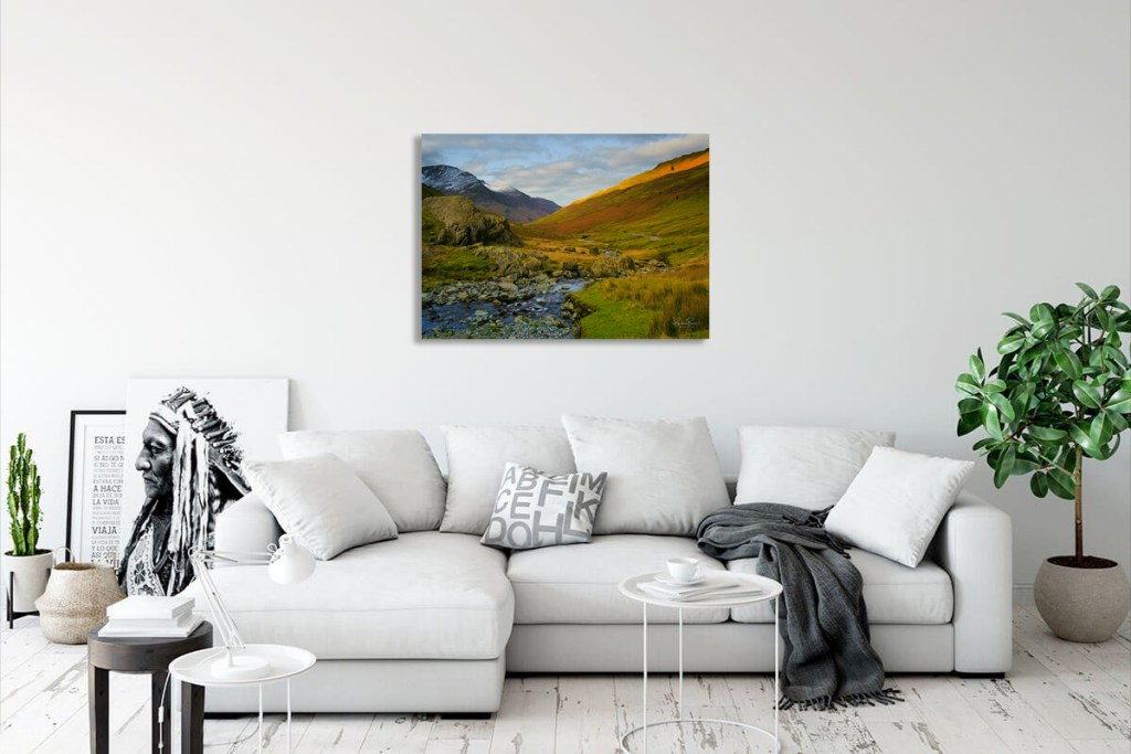 Honister Pass print and canvas