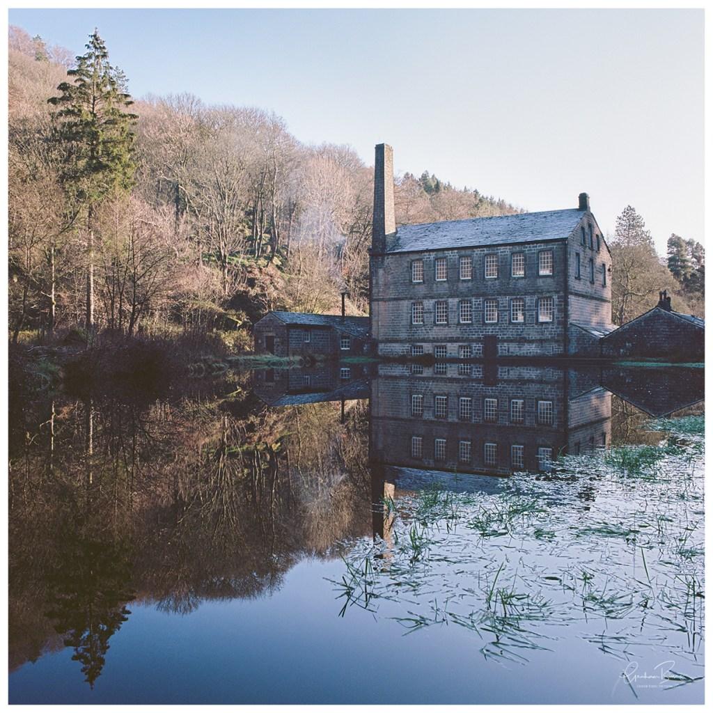 Gibson Mill Hardcastle Crags Hebden Bridge Print