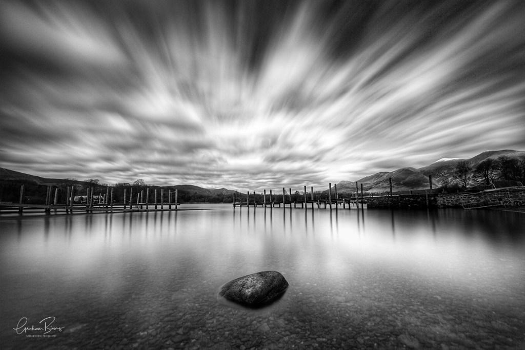 Keswick Boat landings Derwentwater clouds Graham Binns Photography