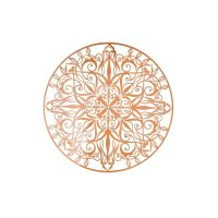 Copper Luxe Metal Wall Art - GrahamBrownUS