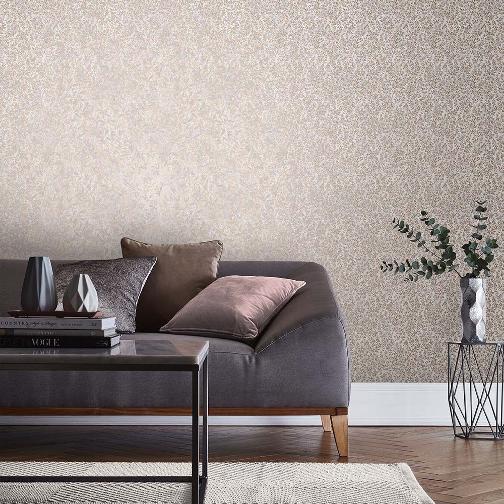 amazing living room wallpaper decor painting ideas feature wall graham brown large botany soft rose gold