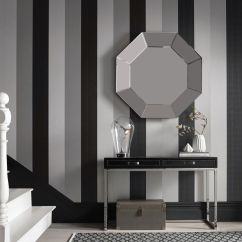 Black And White Wallpaper Ideas For Living Room Fifth Wheel In Front Contemporary Modern Designs Large Figaro
