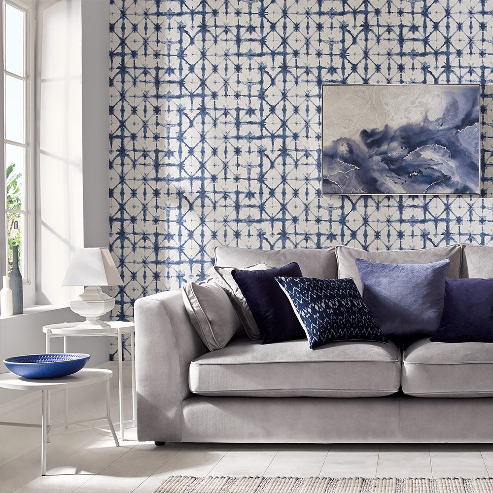 amazing living room wallpaper y sus partes en ingles feature wall graham brown large indigo blue