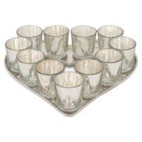 Heart Shaped Tealight Candle Holder - GrahamBrownUK