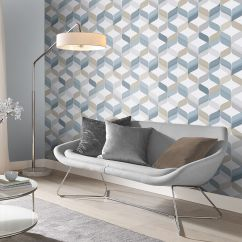 Funky Living Room Wallpaper Ideas For Furniture Unusual Quirky Designs Bedrooms Rooms Large Retro Denim