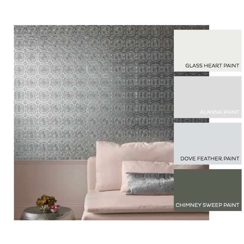 Can you wallpaper ceiling tiles for Can you wallpaper over tiles