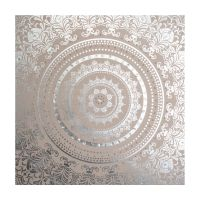 Embellished Cocoon Fabric Canvas Wall Art - GrahamBrownUK