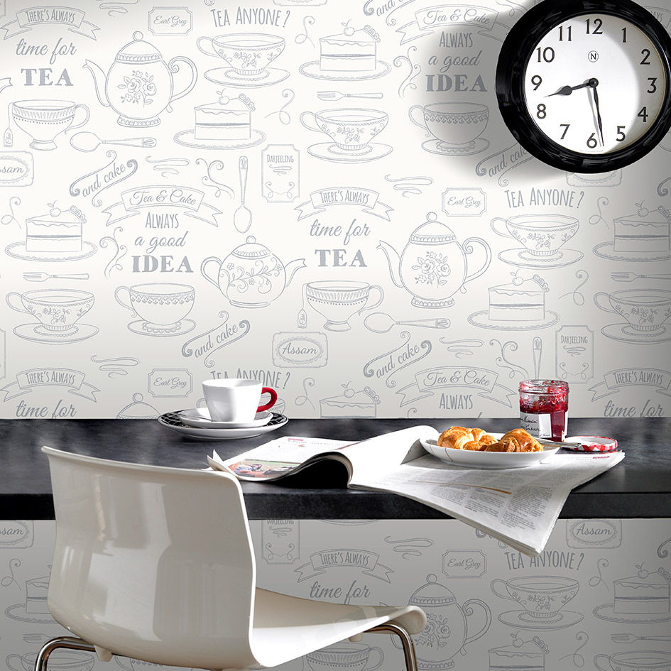 wallpaper for kitchen island back panel how to quickly decorate your bathroom