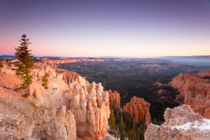 Bryce Canyon National Park Sunrise Pastels